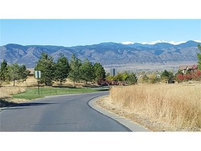Highlands Ranch Residential Lots & Land Active: 603 Emberglow Lane
