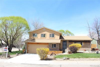 Arvada Single Family Home Active: 7491 Beech Court