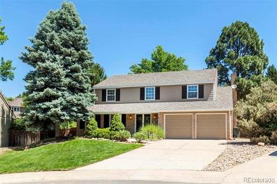 Centennial Single Family Home Active: 7261 East Hinsdale Avenue