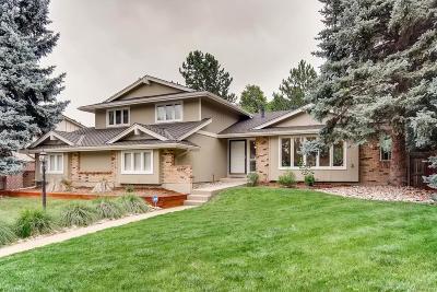 Centennial Single Family Home Active: 4947 East Fair Drive