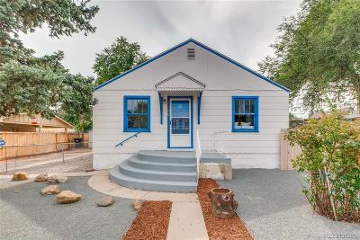 Westwood Single Family Home Under Contract: 3270 West Walsh Place