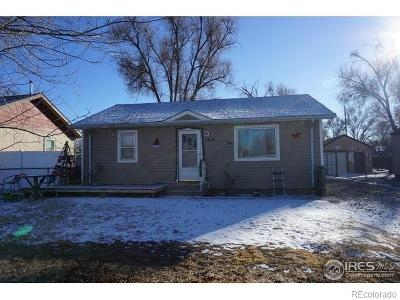 Greeley Single Family Home Under Contract: 1614 5th Street
