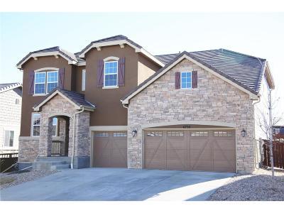 Castle Rock Single Family Home Under Contract: 6738 Esmeralda Drive