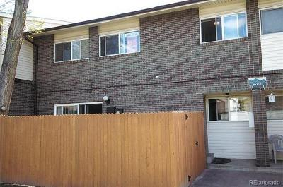 Westminster Condo/Townhouse Under Contract: 8059 Wolff Street #G