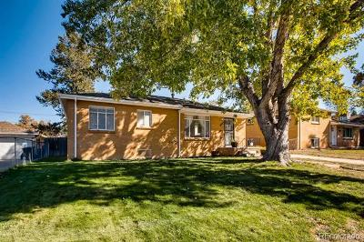Denver Single Family Home Active: 2136 South Zenobia Street