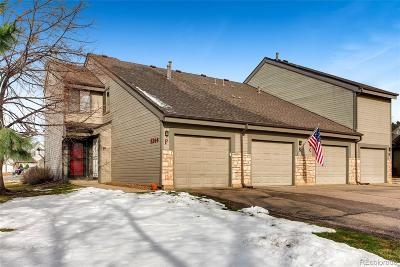 Littleton Condo/Townhouse Under Contract: 8344 South Everett Way #F
