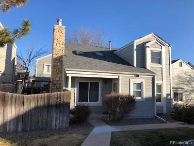 Aurora Single Family Home Active: 11624 East Cornell Circle