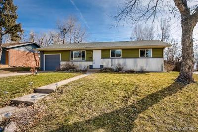 Boulder CO Single Family Home Active: $740,000