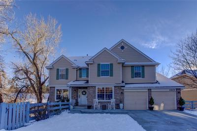 Arapahoe County Single Family Home Active: 2400 West Jamison Way