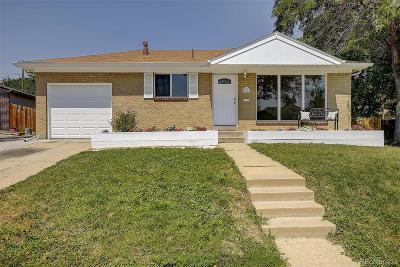 Northglenn Single Family Home Active: 10743 Loren Lane