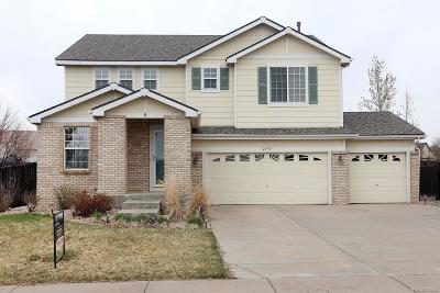 Aurora Single Family Home Active: 2597 South Danube Way