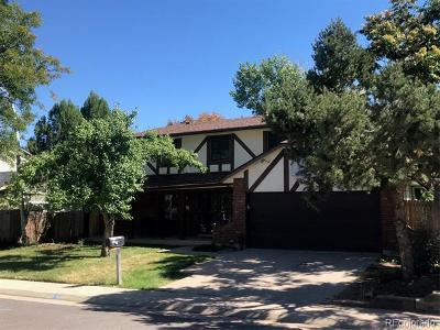 Denver Single Family Home Active: 4084 South Quince Street