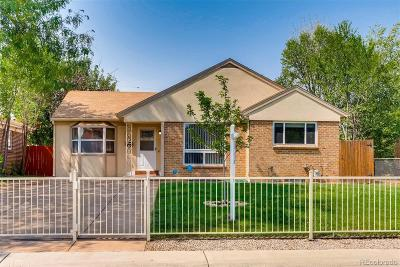 Denver Single Family Home Active: 3065 Jasmine Street