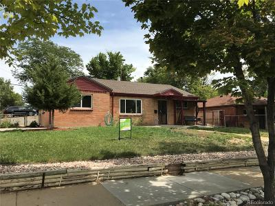 Thornton Single Family Home Under Contract: 9040 Hoffman Way