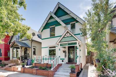 Denver Single Family Home Active: 212 West Irvington Place