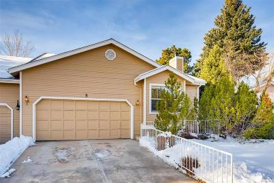 Highlands Ranch Condo/Townhouse Under Contract: 5 Canongate Lane