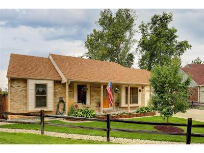 Littleton Single Family Home Active: 10048 West Fremont Place