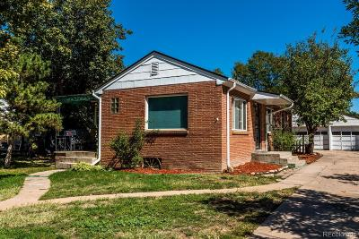 Englewood Single Family Home Under Contract: 4588 South Grant Street