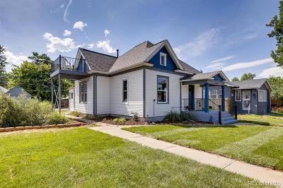Denver Single Family Home Active: 3945 Xavier Street
