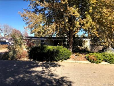 Greeley Single Family Home Under Contract: 3600 Yosemite Drive