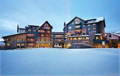 Steamboat Springs Condo/Townhouse Active: 2250 Apres Ski Way #RC406
