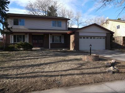 Aurora Single Family Home Under Contract: 1489 South Lima Street
