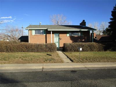 Arvada Single Family Home Under Contract: 6872 Vance Street