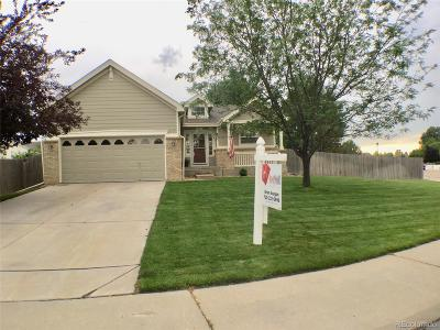 Frederick Single Family Home Under Contract: 5849 Canyon Way