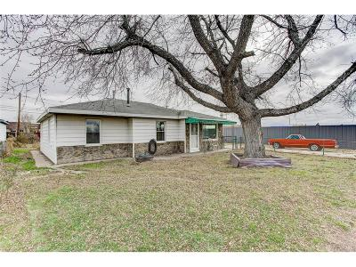 Commerce City Single Family Home Active: 5360 Monaco Street