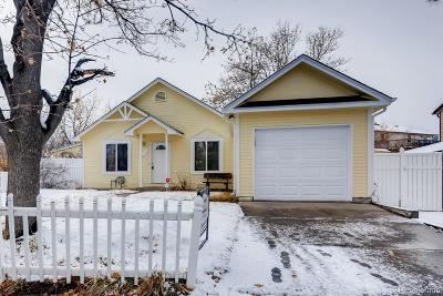 Aurora Single Family Home Active: 17455 East Temple Drive