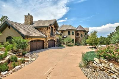Castle Rock CO Single Family Home Active: $3,125,000