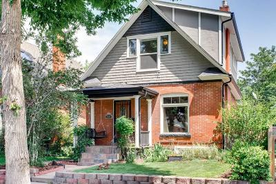 Denver Single Family Home Under Contract: 880 South Sherman Street
