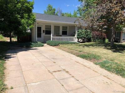 Denver Single Family Home Active: 2565 South Race Street