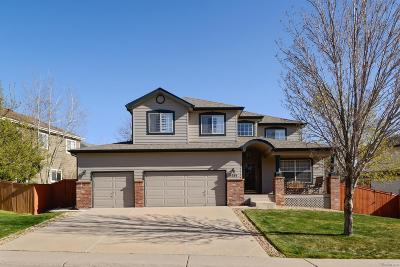 Highlands Ranch Single Family Home Active: 9261 Lark Sparrow Drive