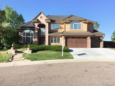 Centennial Single Family Home Active: 5565 East Mineral Lane