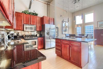 Denver Condo/Townhouse Active: 1475 Delgany Street #805