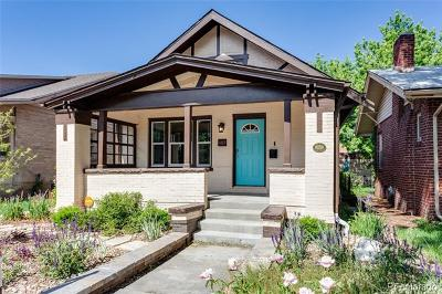 Denver Single Family Home Active: 407 Clarkson Street