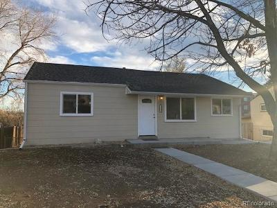 Denver Single Family Home Active: 1542 West Hoye Place