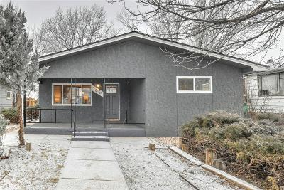 Commerce City Single Family Home Under Contract: 7061 Glencoe Street