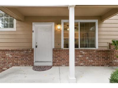 Littleton Condo/Townhouse Under Contract: 6845 South Webster Street #E