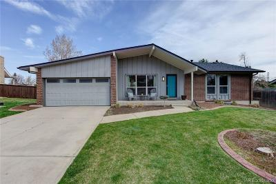 Denver Single Family Home Active: 4186 South Sidney Court