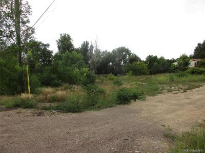 Arvada Residential Lots & Land Active: 5171 Carr Street