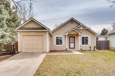 Aurora CO Single Family Home Under Contract: $275,000