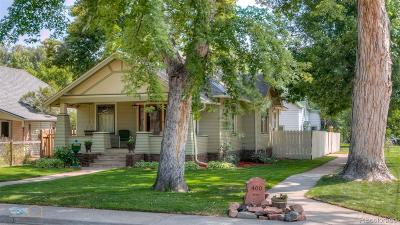 Longmont Single Family Home Under Contract: 400 Baker Street