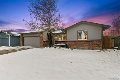 Broomfield Single Family Home Under Contract: 3360 South Princess Circle