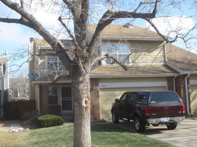 Denver Condo/Townhouse Active: 7545 East Gunnison Place