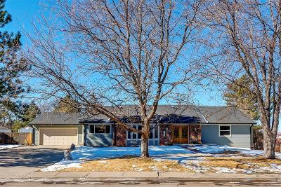 Littleton Single Family Home Under Contract: 7465 South Elati Street