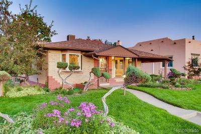 Denver Single Family Home Active: 4890 Tennyson Street