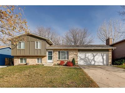 Littleton Single Family Home Under Contract: 4682 South Dudley Street