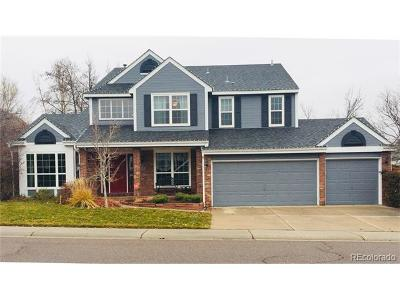 Highlands Ranch CO Single Family Home Under Contract: $600,000